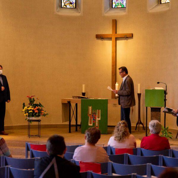 Verabschiedung Simeon Kloft, Jenny Kloft - Kirche Herschweiler-Pettersheim